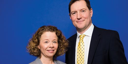 Profile: Fiona Oliver and James Roberts of Partners Wealth Management