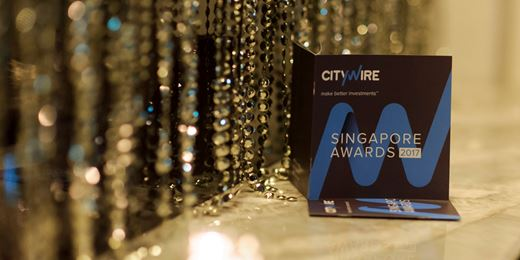Citywire Asia Awards 2017: images from Singapore