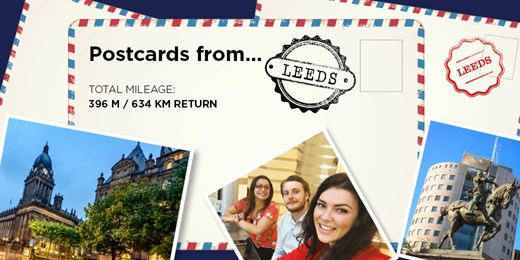 On The Road Diary - Postcards from Leeds....