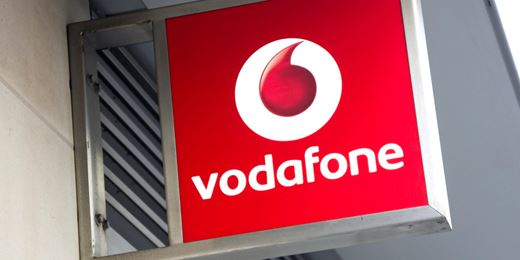 Vodafone jumps on divi relief as pound wipes out FTSE gains