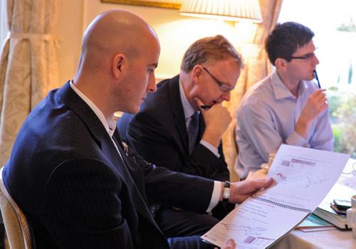 UBS Wealth Management's Neil Bantel during a Smart Beta workshop
