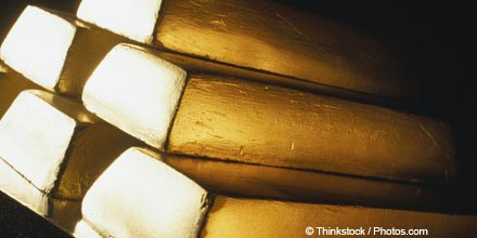 Gold eases in cautious trade