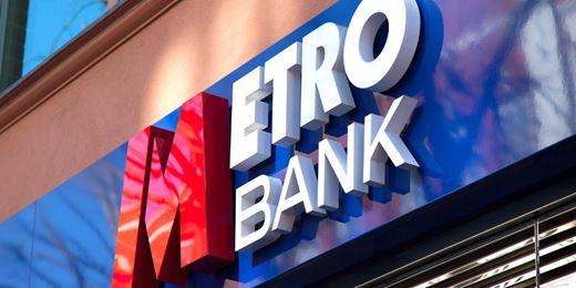 FTSE falls as Metro Bank dives 39% on profit warning