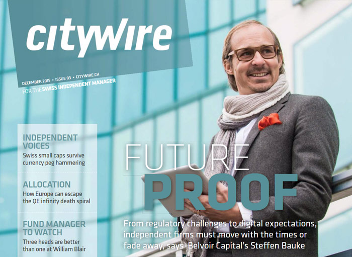 Citywire Swiss Indpendent Manager Issue 3