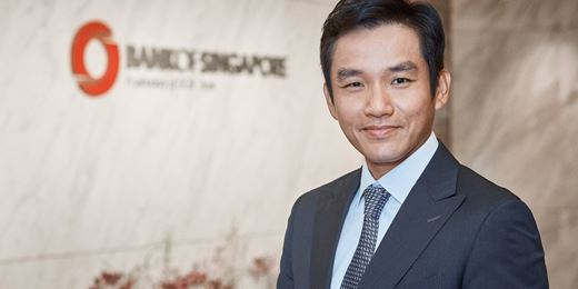Bank of Singapore names Hong Kong CEO