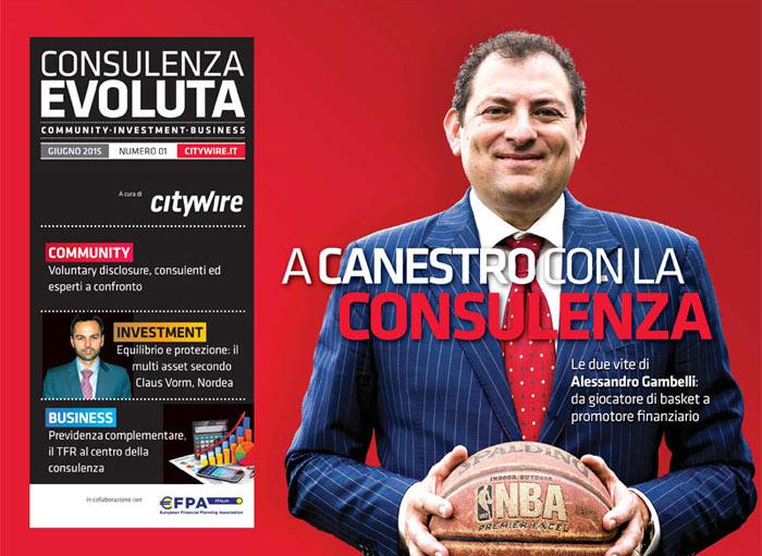 Citywire Consulenza Evoluta magazine Issue 1