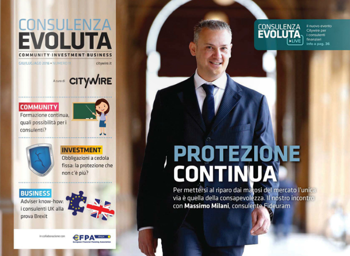 Citywire Consulenza Evoluta magazine Issue 11