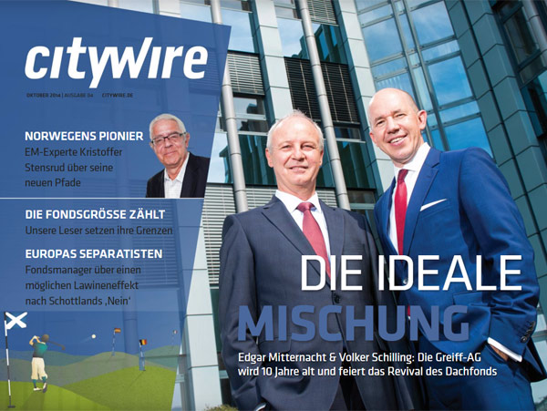 Citywire Deutschland Magazine Issue 4