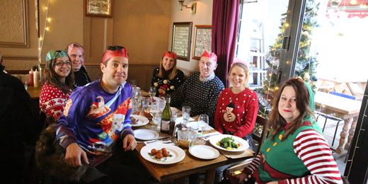 Pub Club Special: On the Road Christmas Jumper Lunch 2017