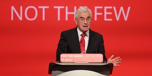 McDonnell promises 'cost free' nationalisation from Labour