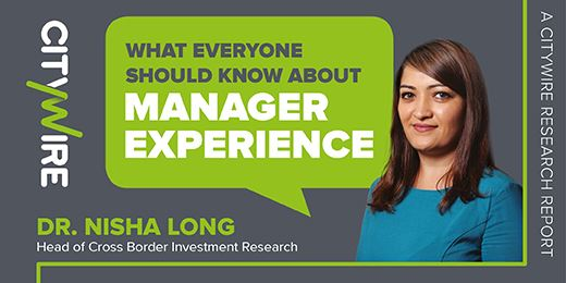 What everyone should know about manager experience
