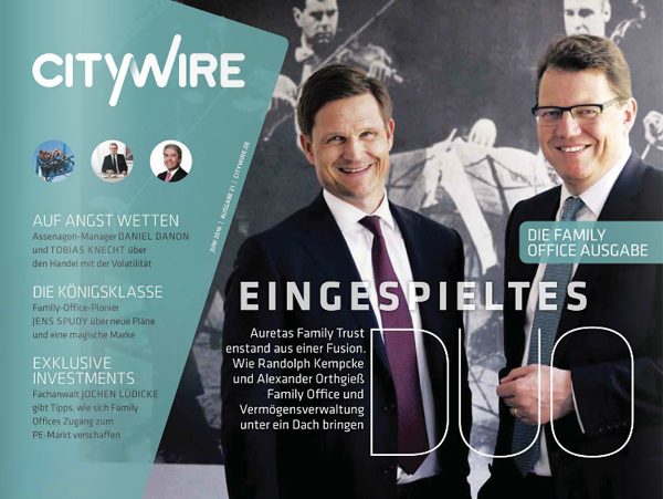 Citywire Deutschland Magazine Issue 21