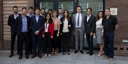 Por tercer año consecutivo alumnos de IEF de Barcelona visitan nuestras oficinas en Londres