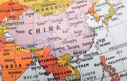 The SRI segment in which Asia leads the world