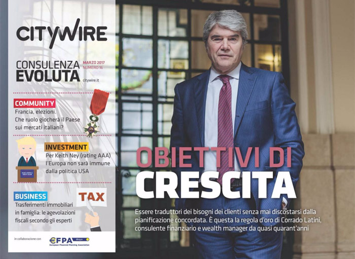 Citywire Consulenza Evoluta magazine Issue 16
