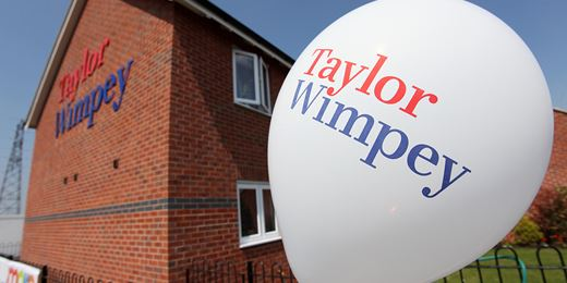 House builders drag down FTSE as Taylor Wimpey warns on margins