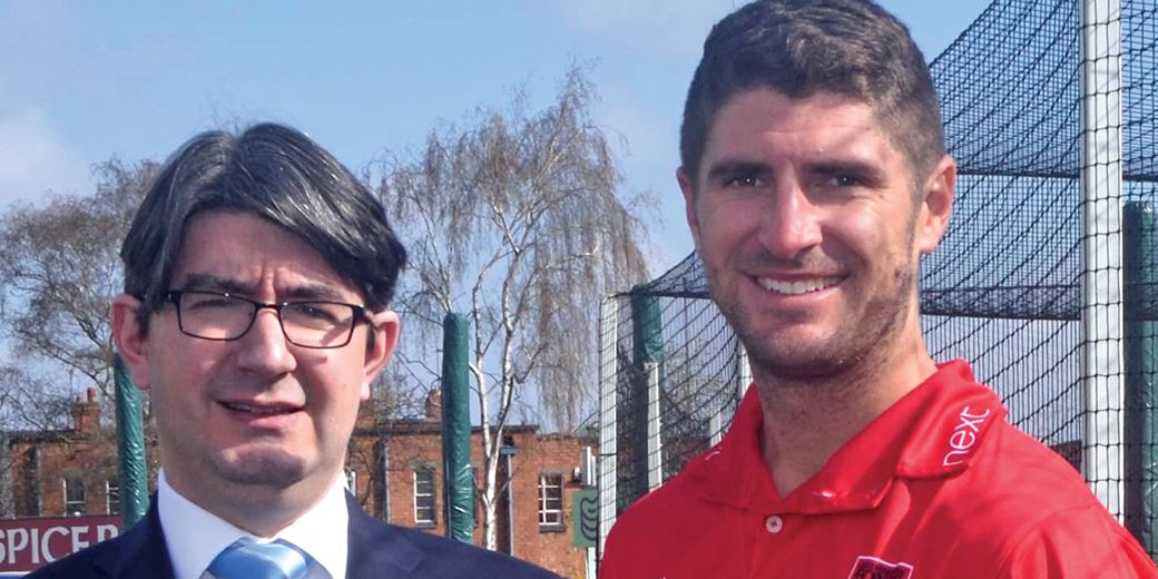 117 not out: Leicester IFA extends cricket club partnership