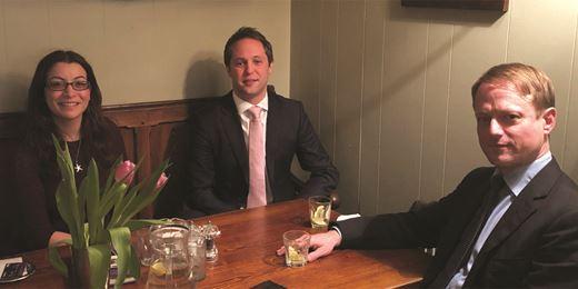 Pub Club: At The Britannia in Richmond with Quartet Capital Partners