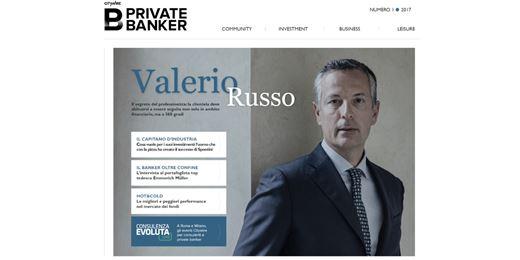 """""""Il segreto è specializzarsi"""", l'intervista a Valerio Russo di Banca Generali"""