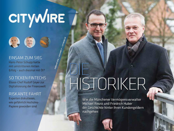 Citywire Deutschland Magazine Issue 17