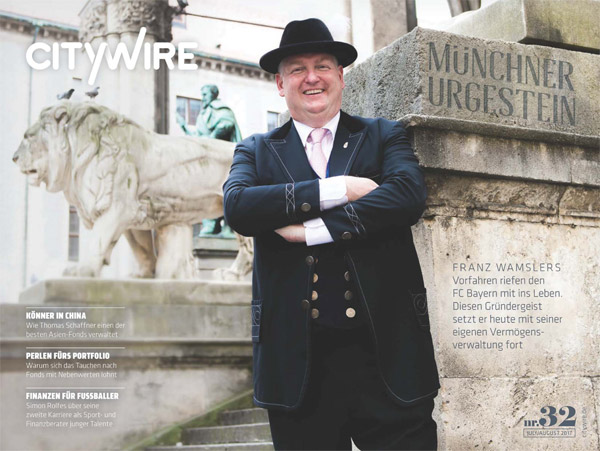 Citywire Deutschland Magazine Issue 32