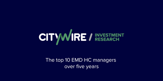 The top 10 EMD hard currency managers over five years