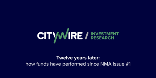 12 years later: how funds have performed since NMA issue #1