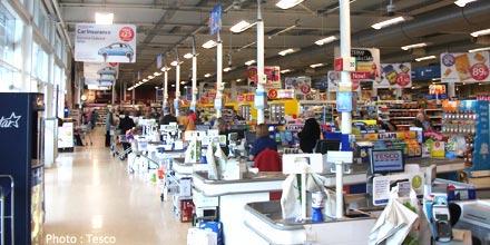 Tesco sales slump as retailer is branded a 'sinking ship'