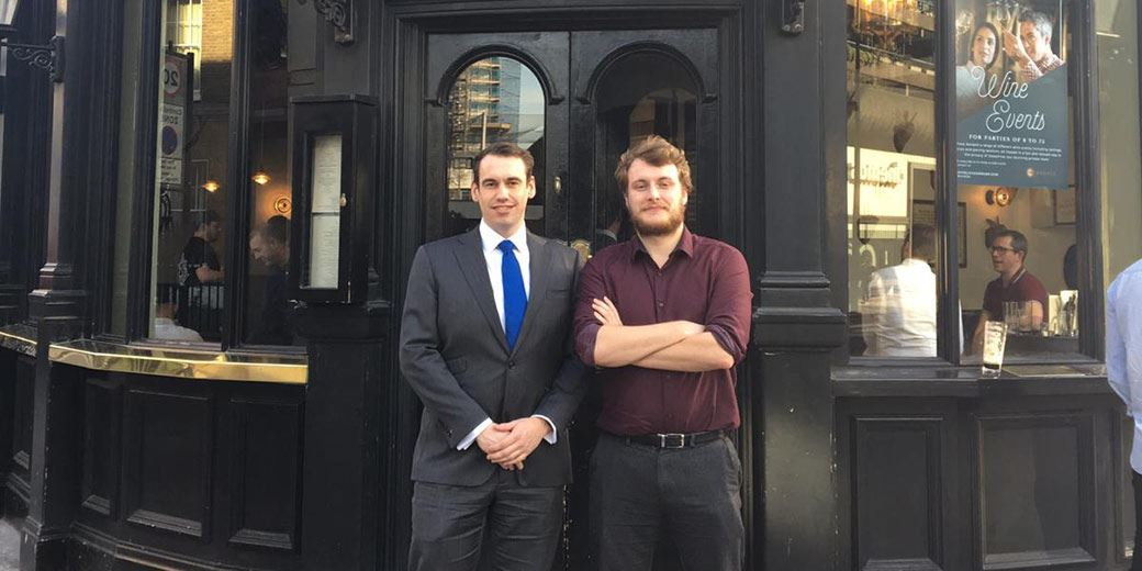 Pub Club: At The Jugged Hare with Alex Neilson, Investec Click & Invest