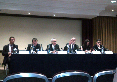 "Harriet Dodd attends The Scotsman's ""Markets 2012: Where to from here?"" conference in Edinburgh"