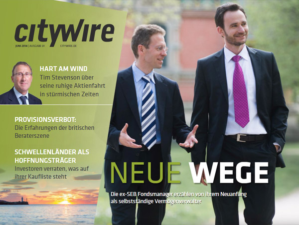 Citywire Deutschland Magazine Issue 1