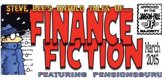 Steve Bee's untold tales of finance fiction