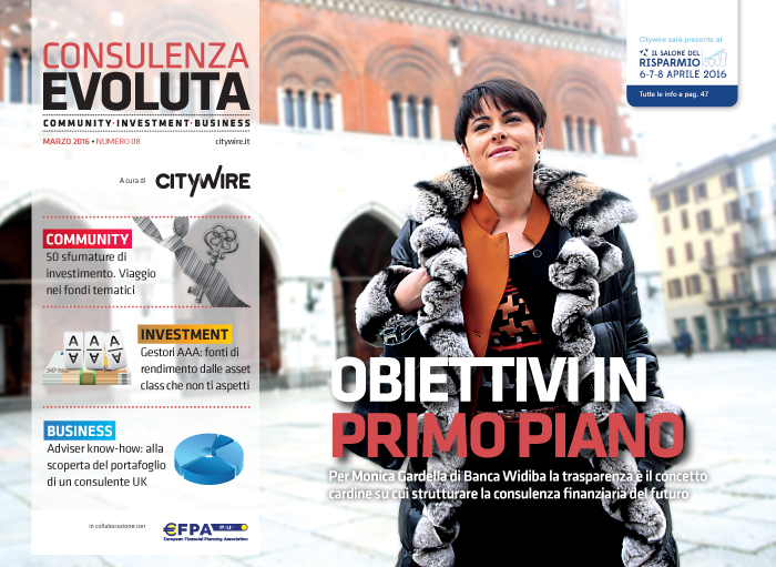 Citywire Consulenza Evoluta magazine Issue 8