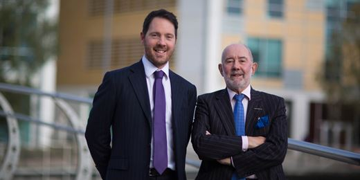 Profile: RC Brown's father and son team on generational change