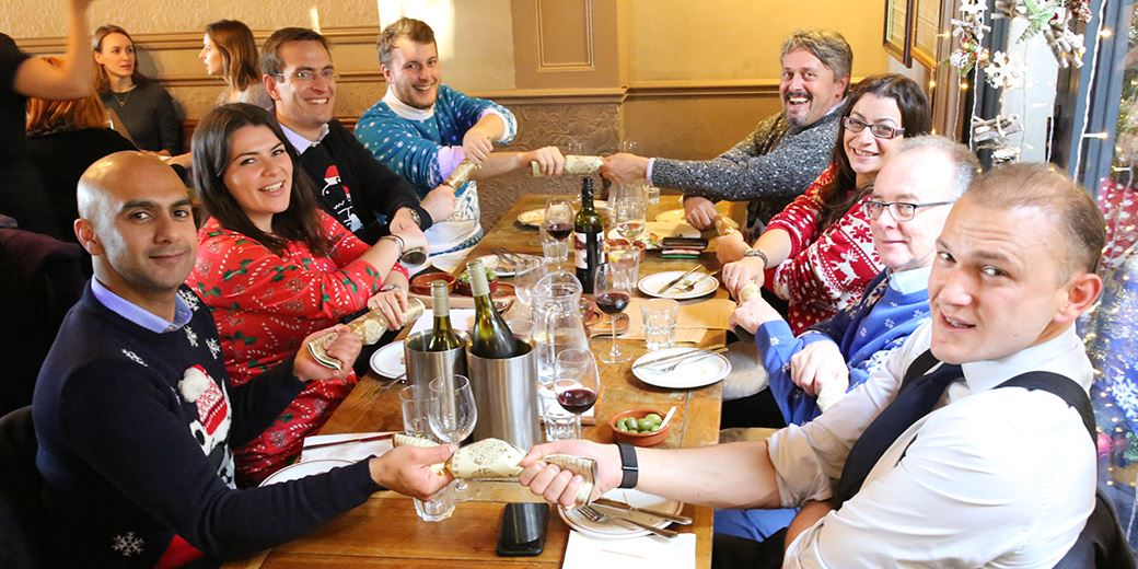 Pub Club Special: On the Road Christmas Jumper Lunch 2018