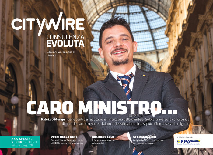 Citywire Consulenza Evoluta magazine Issue 21