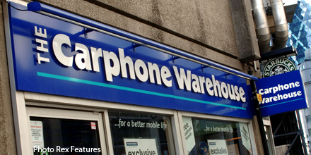 Dixons Carphone plunges as mobile sales hit