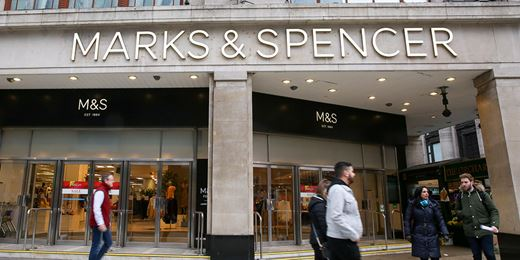 FTSE rises but profits dive hits M&S and Royal Mail slashes dividend