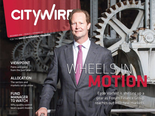 Citywire Switzerland Magazine
