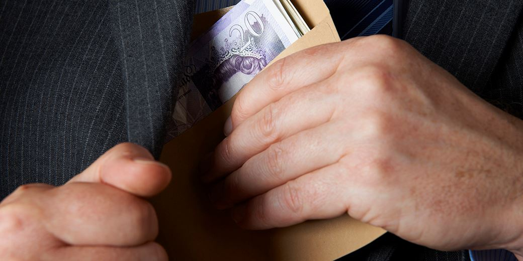 Fraud record as courts consider £900m losses in first half