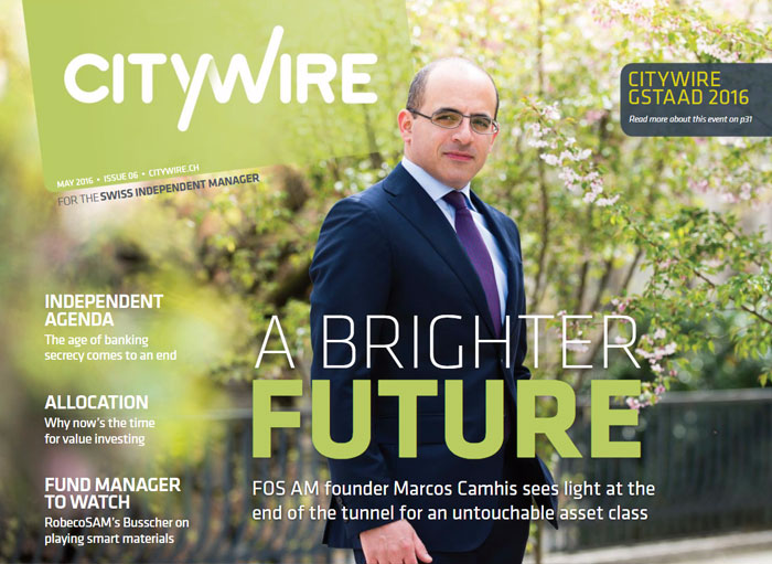 Citywire Swiss Indpendent Manager Issue 6