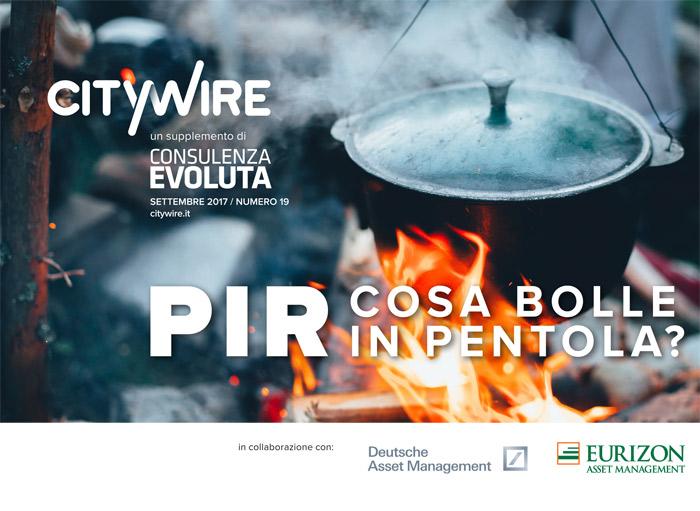 Citywire Consulenza Evoluta magazine Supplemento: PIR