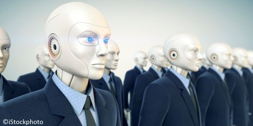 Do robots dream of asset managers?