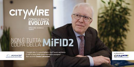 Cesare Lafranconi (Azimut), vi spiego il lato oscuro della MiFID2