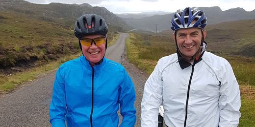 Hitting the Road on Psigma's cycling challenge