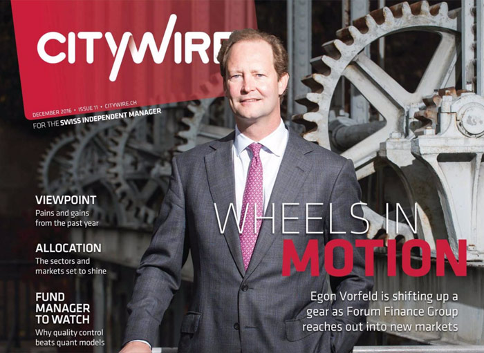 Citywire Swiss Indpendent Manager Issue 11