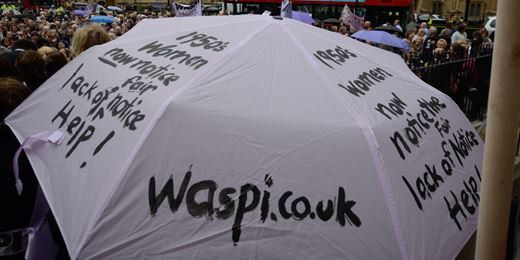 Pensions minister dodges women's event amid Waspi protests
