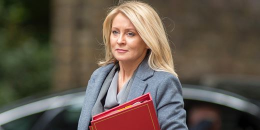 Work and Pensions secretary McVey resigns
