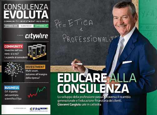 Citywire Consulenza Evoluta magazine Issue 4