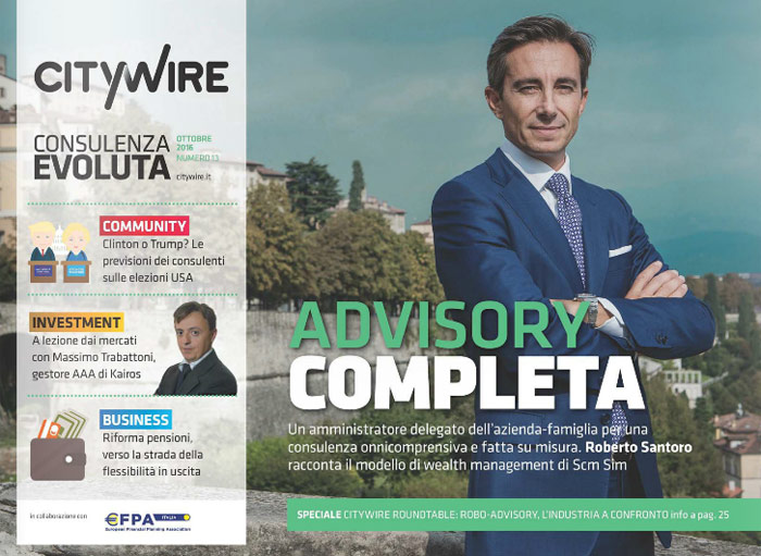 Citywire Consulenza Evoluta magazine Issue 13